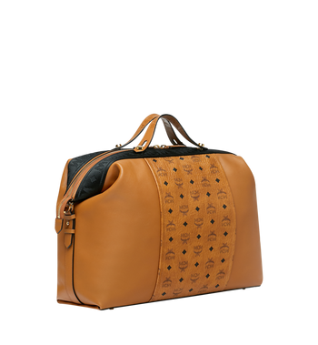 MCM Essential Weekender in Visetos and Leather Alternate View 2