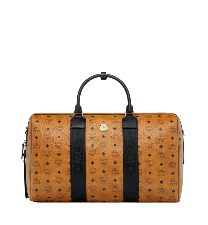 MCM Traveler Weekender in Visetos MUV9SVY08CO001 AlternateView1