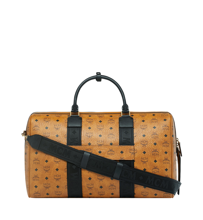MCM Traveler Weekender in Visetos MUV9SVY08CO001 AlternateView4