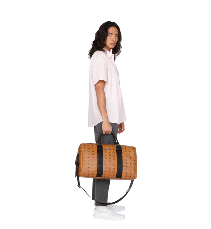 MCM Traveler Weekender in Visetos Alternate View 7