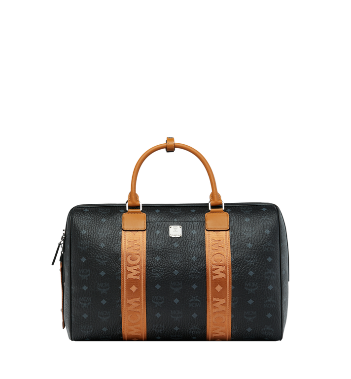 MCM Traveler Weekender in Visetos MUV9SVY09BK001 AlternateView