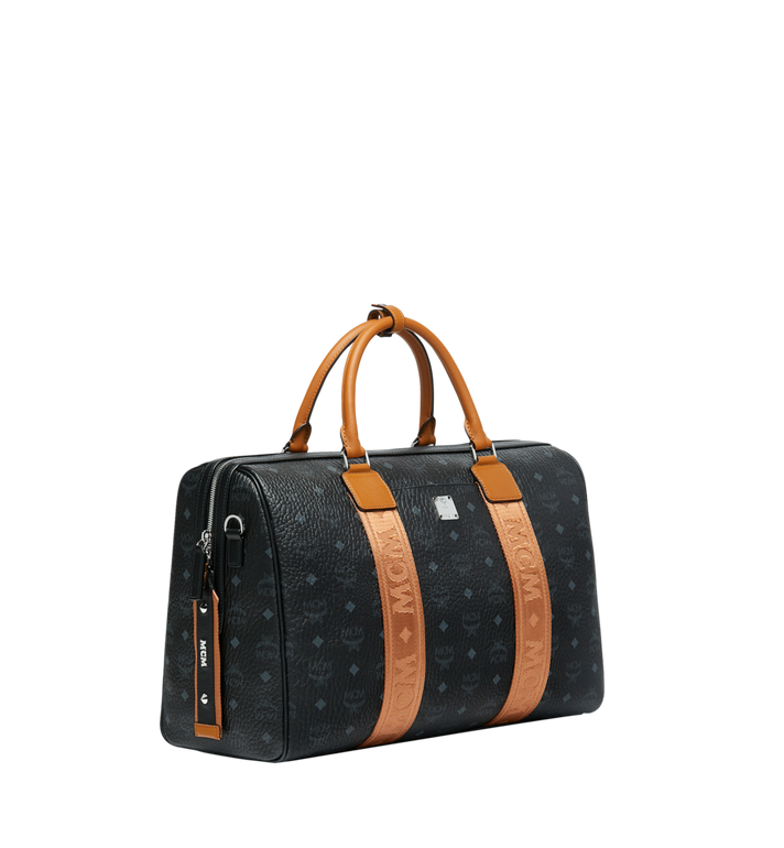 MCM Traveler Weekender in Visetos MUV9SVY09BK001 AlternateView2