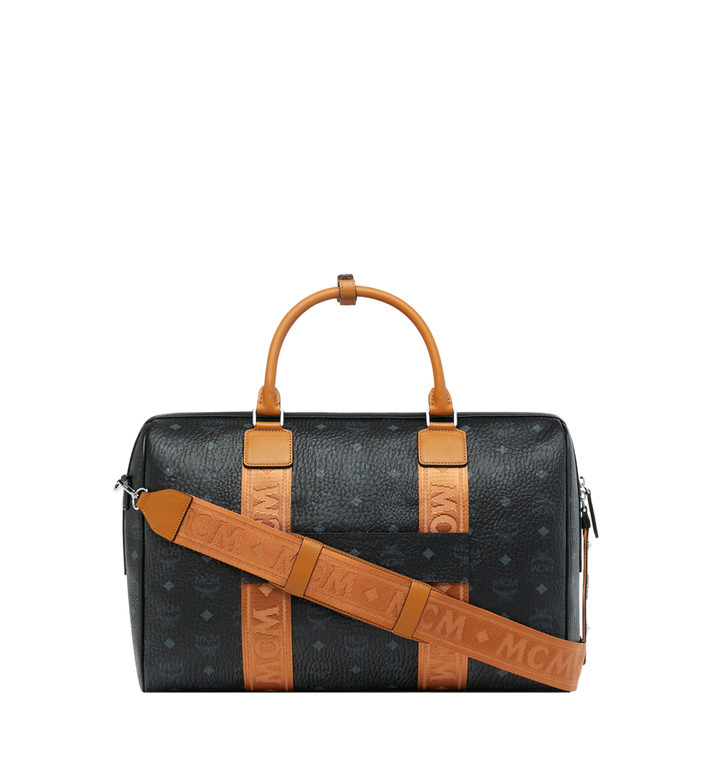 MCM Traveler Weekender in Visetos MUV9SVY09BK001 AlternateView4