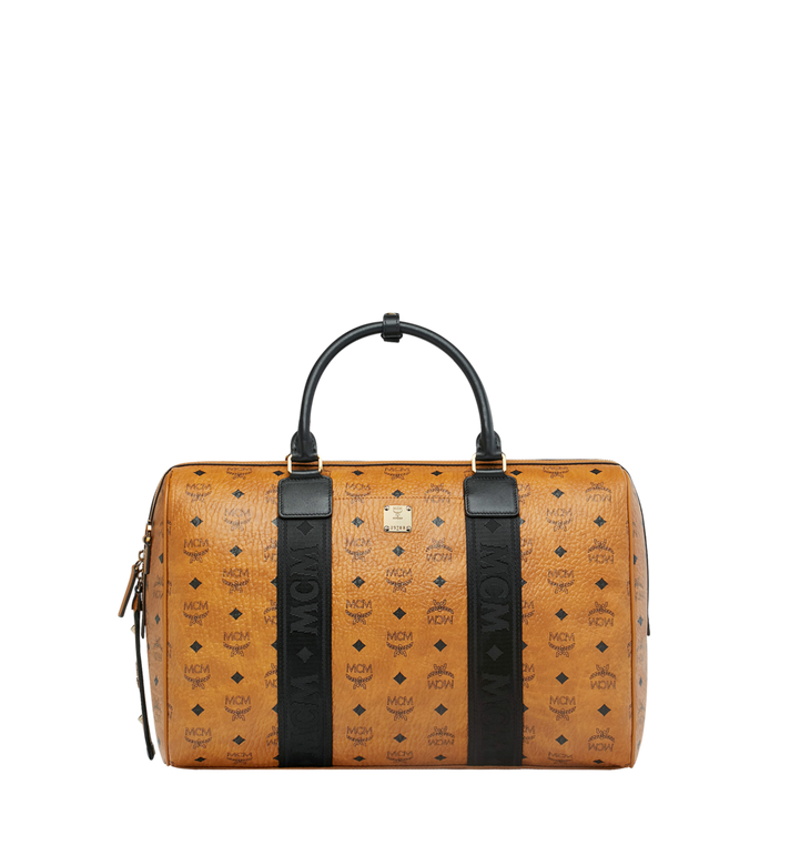 MCM Traveler Weekender in Visetos MUV9SVY09CO001 AlternateView1