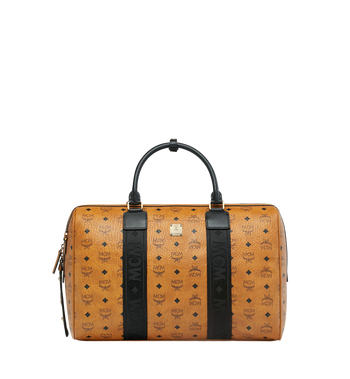 MCM Traveler Weekender in Visetos MUV9SVY09CO001 AlternateView