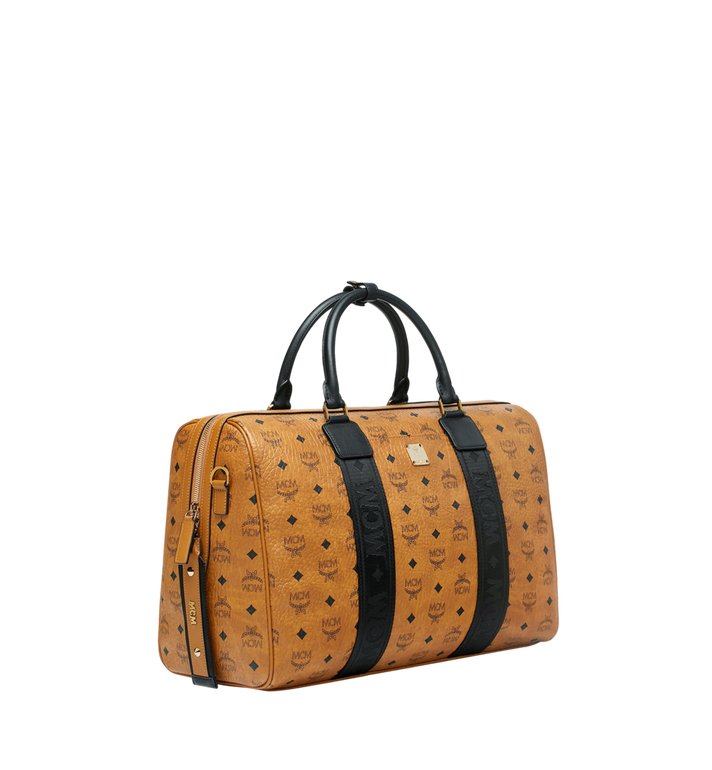 MCM Traveler Weekender in Visetos Cognac MUV9SVY09CO001 Alternate View 2