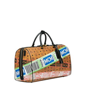 MCM Traveler Weekender in Flight Print Visetos Alternate View 2