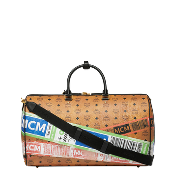 MCM Traveler Weekender in Flight Print Visetos Alternate View 4
