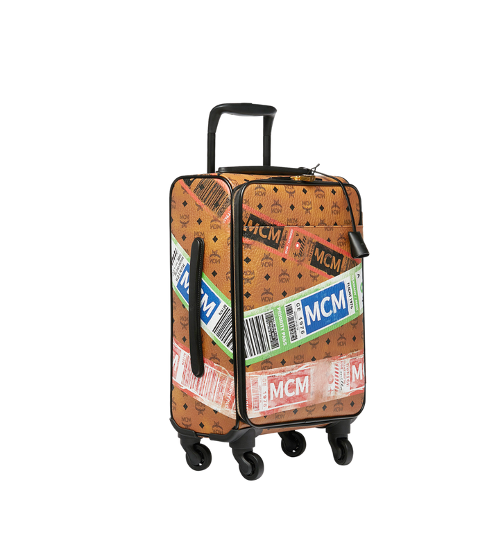 MCM Traveler Cabin Trolley in Flight Print Visetos Alternate View 2