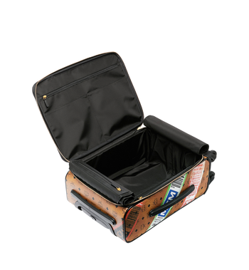 MCM Traveler Cabin Trolley in Flight Print Visetos Alternate View 5