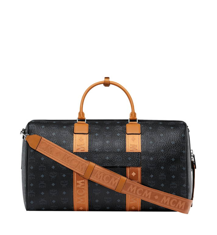 MCM Traveler Weekender in Visetos MUV9SVY16BK001 AlternateView4