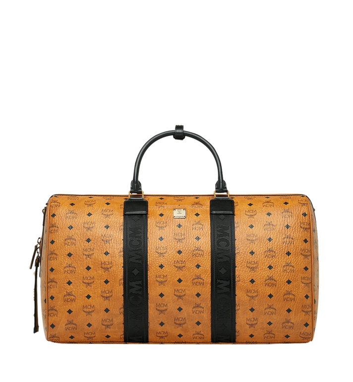 MCM Traveler Weekender in Visetos MUV9SVY16CO001 AlternateView