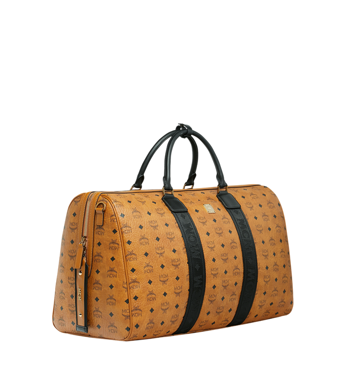 MCM Traveler Weekender in Visetos MUV9SVY16CO001 AlternateView2