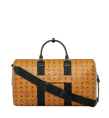 MCM Traveler Weekender in Visetos MUV9SVY16CO001 AlternateView4