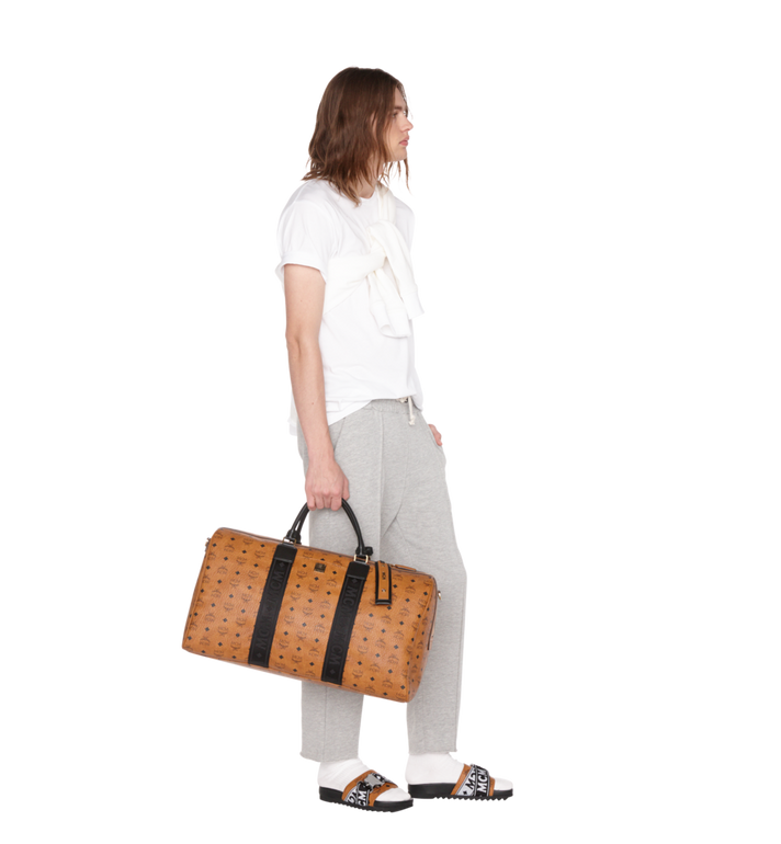 MCM Traveler Weekender in Visetos Alternate View 6