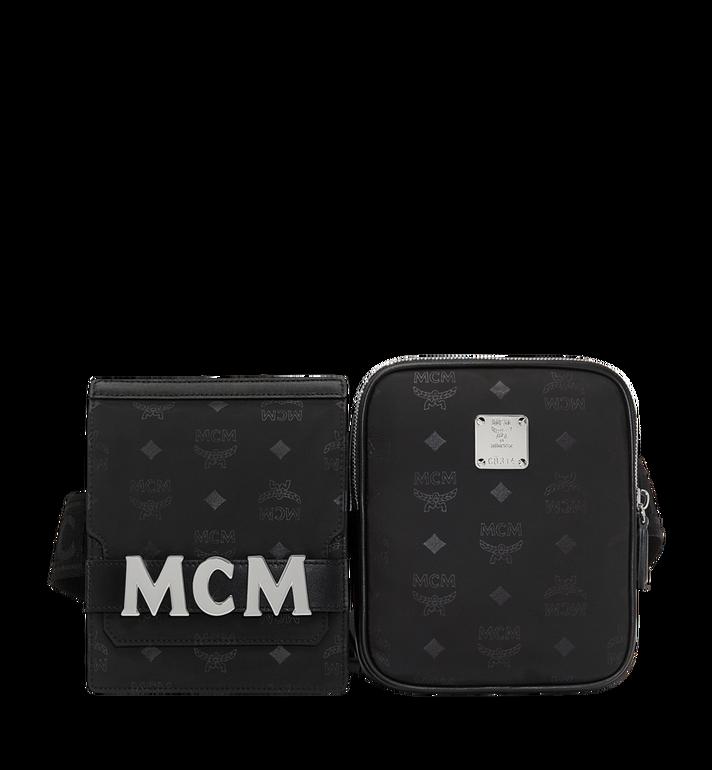 MCM 〈ディーター〉モジュラー ベルトバッグ モノグラム入りナイロン MUZ8ADT22BK001 AlternateView