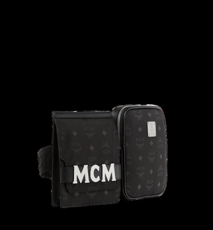 MCM 〈ディーター〉モジュラー ベルトバッグ モノグラム入りナイロン MUZ8ADT22BK001 AlternateView2