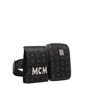 MCM Stark Modular Belt Bag in Visetos AlternateView2
