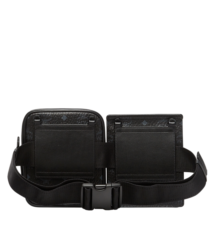 MCM Stark Modular Belt Bag in Visetos MUZ8AVE11BK001 AlternateView4