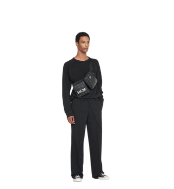 MCM Stark Modular Belt Bag in Visetos AlternateView6