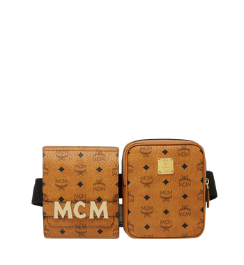 MCM Stark Modular Belt Bag in Visetos MUZ8AVE11CO001 AlternateView