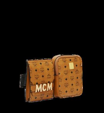 MCM Stark Modular Belt Bag in Visetos MUZ8AVE11CO001 AlternateView2