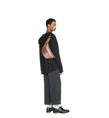 MCM Stark Belt Bag in Visetos Alternate View 6