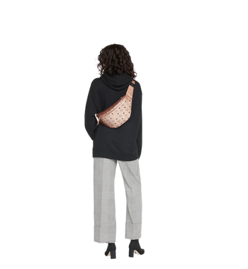 MCM Stark Belt Bag in Visetos Alternate View 7