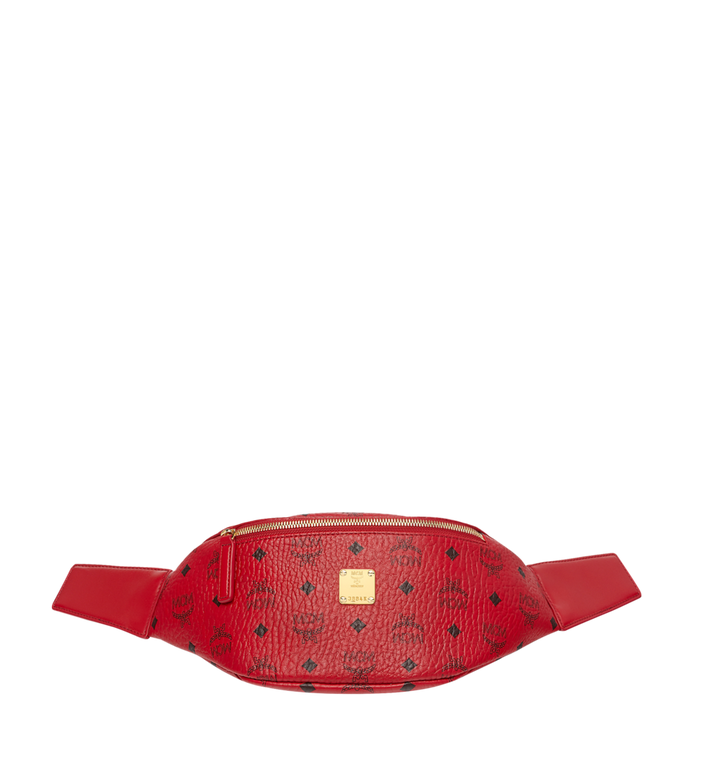 MCM (MCM)RED Belt Bag in Visetos Alternate View