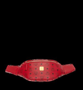 MCM (MCM)RED Belt Bag in Visetos MUZ8AVE17RU001 AlternateView