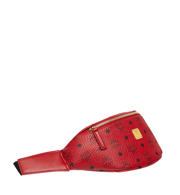 MCM (MCM)RED Belt Bag in Visetos MUZ8AVE17RU001 AlternateView2