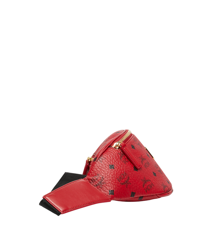 MCM (MCM)RED Belt Bag in Visetos MUZ8AVE17RU001 AlternateView3