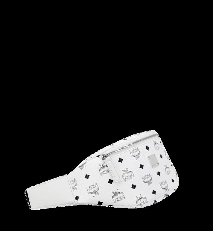 MCM Stark Belt Bag in Visetos White MUZ8AVE17WT001 Alternate View 2