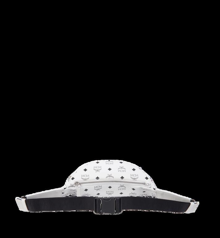 MCM Stark Belt Bag in Visetos White MUZ8AVE17WT001 Alternate View 4