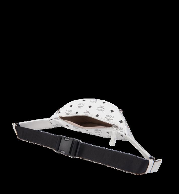 MCM Stark Belt Bag in Visetos White MUZ8AVE17WT001 Alternate View 5