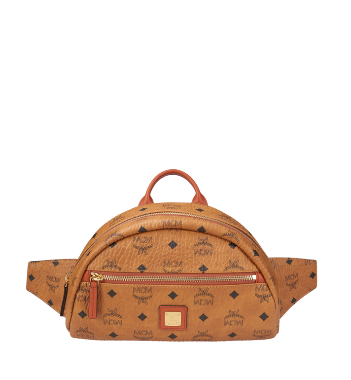 MCM Heritage Belt Bag in Visetos Alternate View 1