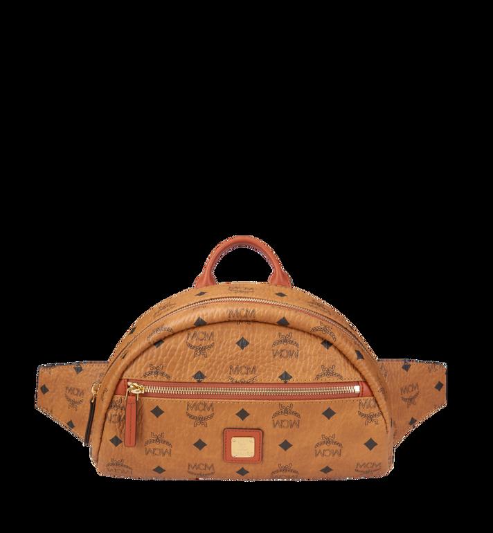MCM Heritage Belt Bag in Visetos AlternateView