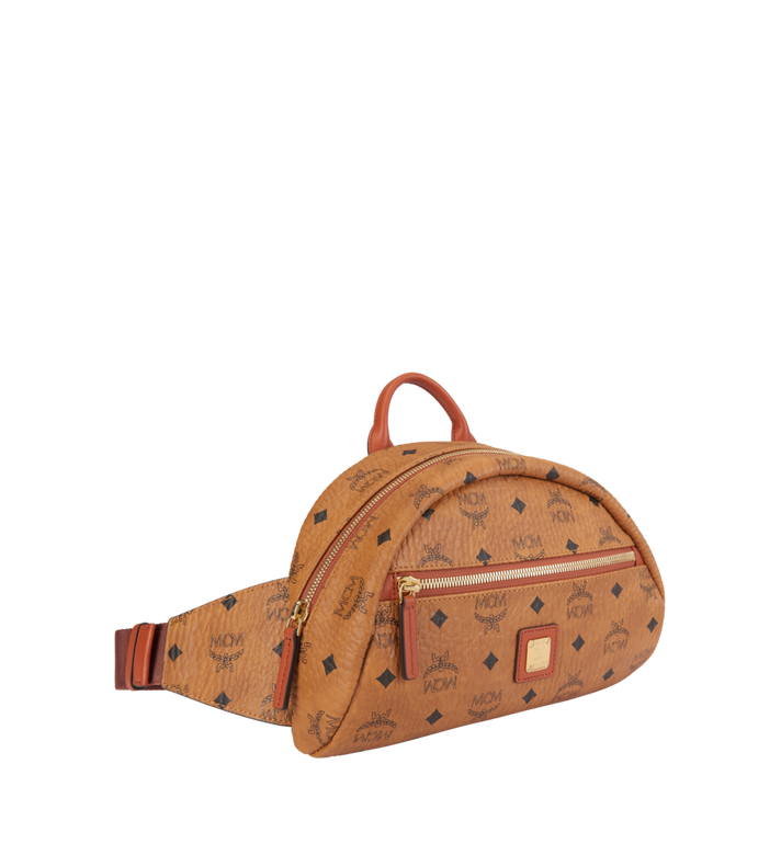 MCM Heritage Belt Bag in Visetos MUZ8AXL41CO001 AlternateView2