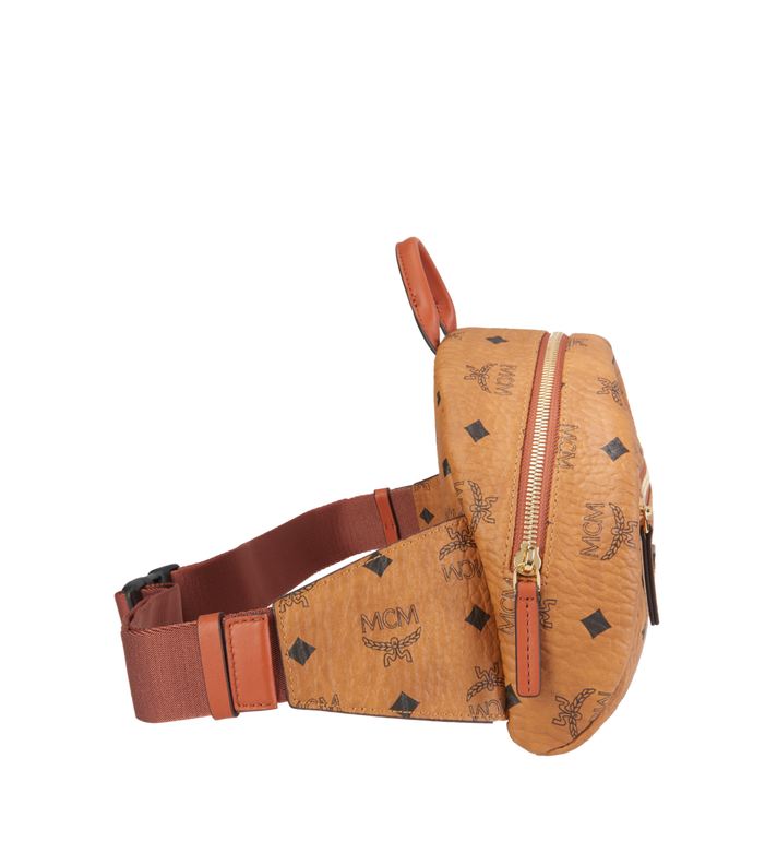 MCM Heritage Belt Bag in Visetos MUZ8AXL41CO001 AlternateView3