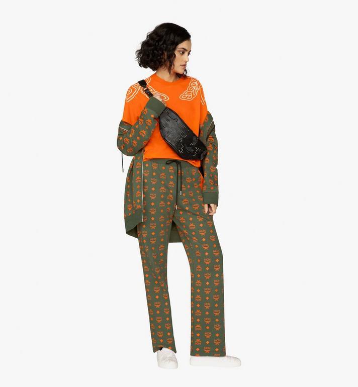 MCM Fursten Belt Bag in Studded Lion Camo  MUZ9AFI33BK001 Alternate View 5