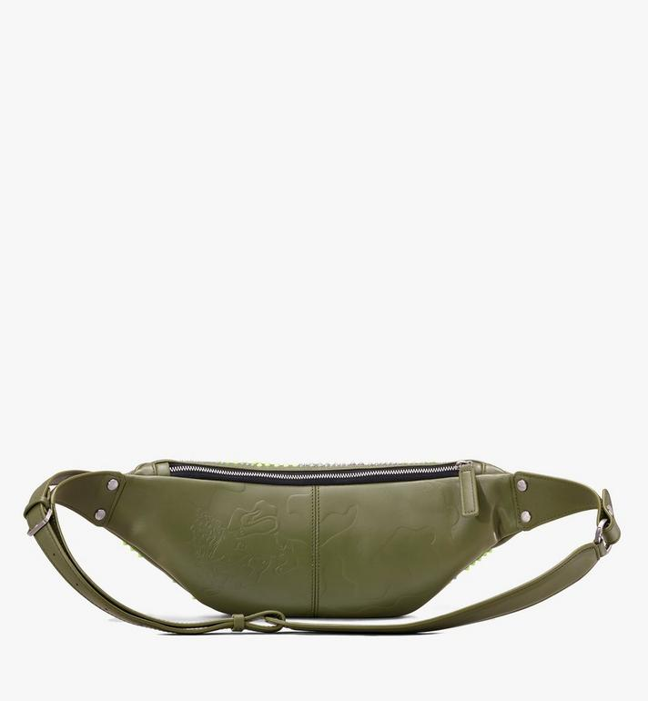 MCM Fursten Belt Bag in Studded Lion Camo Alternate View 2