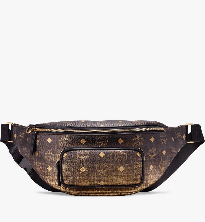 MCM Fursten Belt Bag in Gradation Visetos Alternate View