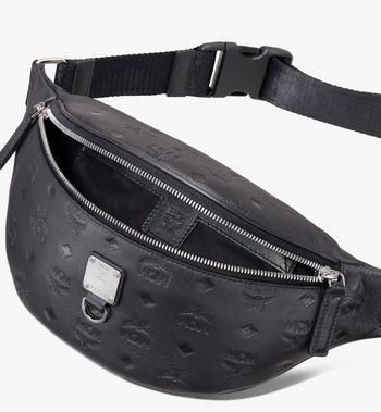 MCM Fursten Belt Bag in Monogram Leather Alternate View 3