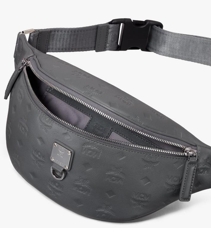 MCM Fursten Belt Bag in Monogram Leather  MUZ9AFI50EC001 Alternate View 3