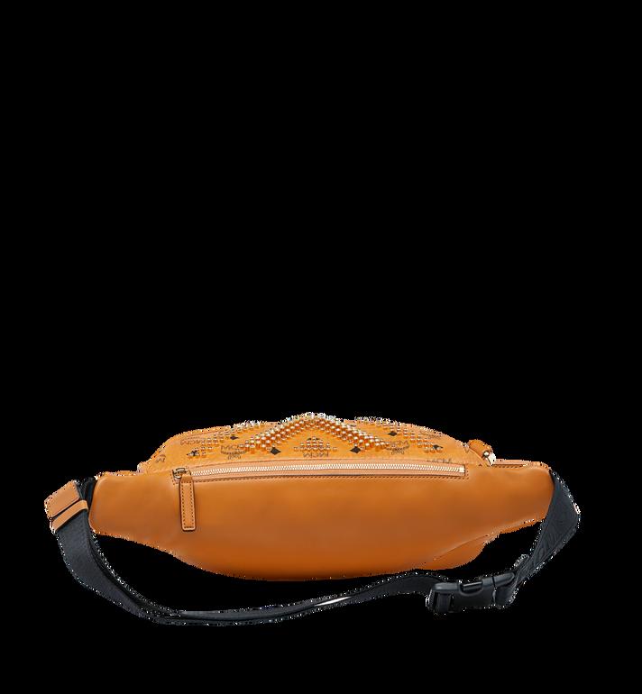 MCM Fursten Belt Bag in Graded M Studs Visetos Alternate View 4