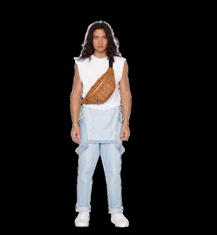 MCM Fursten Belt Bag in Graded M Studs Visetos Alternate View 6