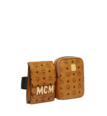 MCM Stark Modular Belt Bag in Visetos Alternate View 2