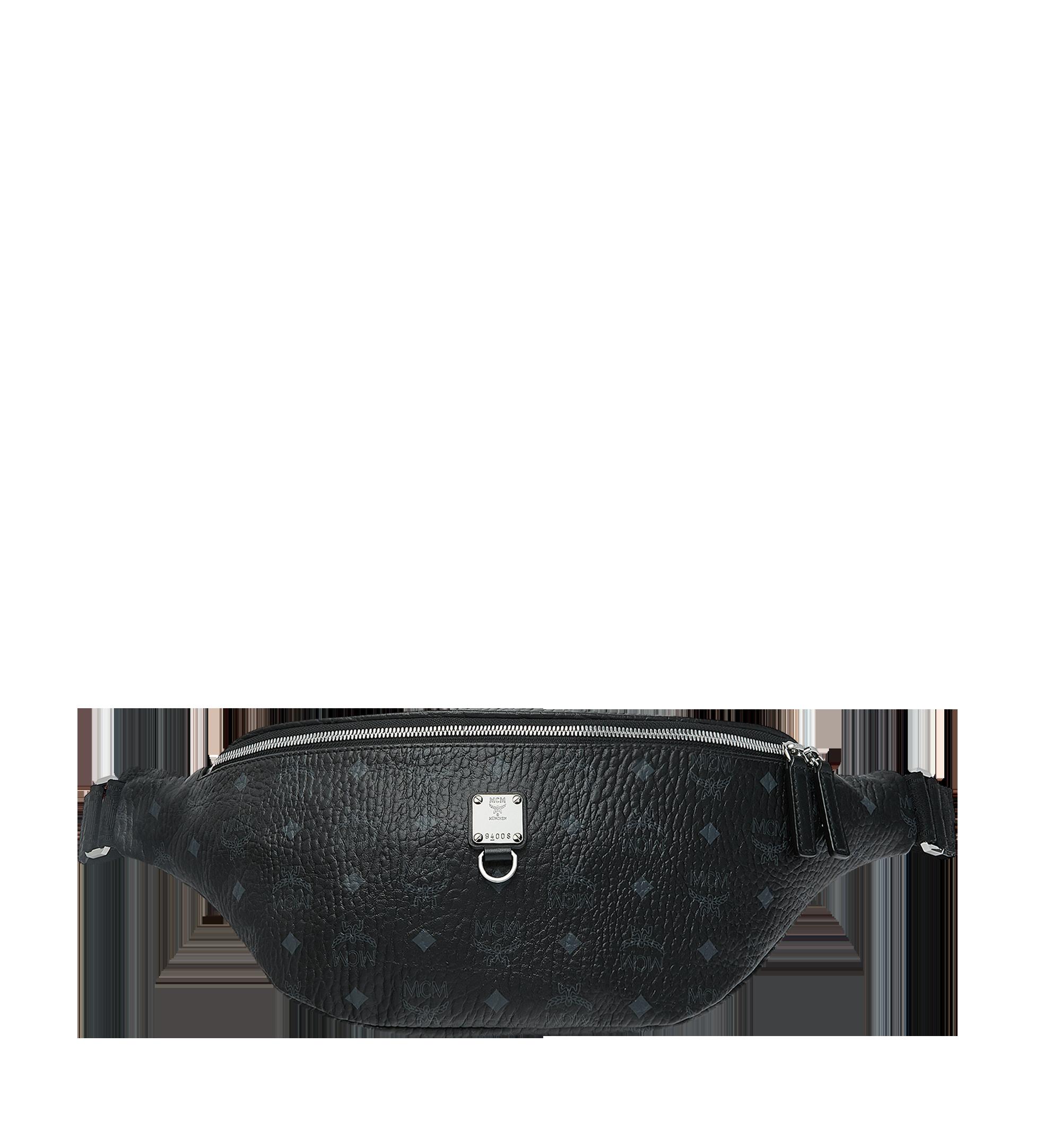 MCM 〈フュルステン〉ヴィセトス ベルトバッグ Black MUZ9SFI21BK001 Alternate View 1