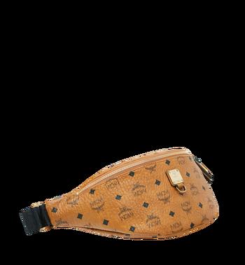 MCM Fursten Belt Bag in Visetos Cognac MUZ9SFI21CO001 Alternate View 2