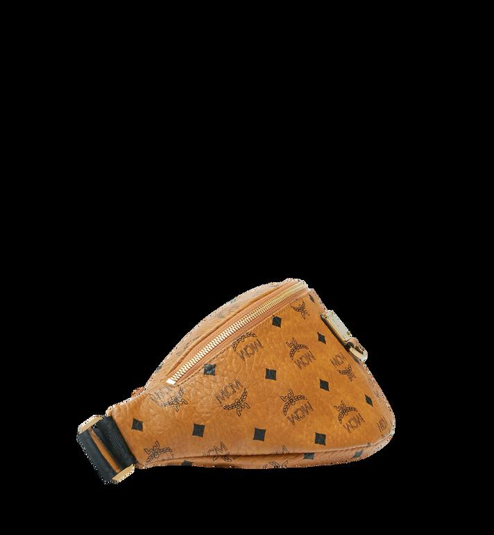 MCM Fursten Belt Bag in Visetos Cognac MUZ9SFI21CO001 Alternate View 3